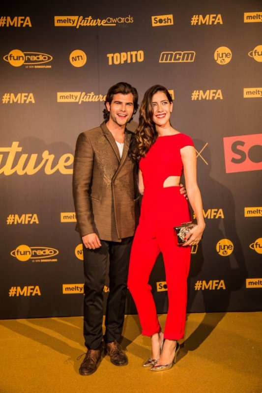 Diego et Clara - Melty Future Awards à Paris