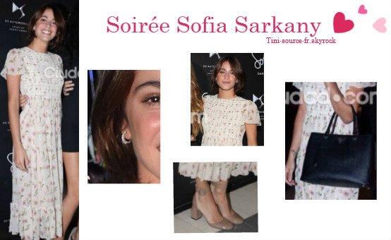 Tini's Look - Soirée Sofia Sarkany