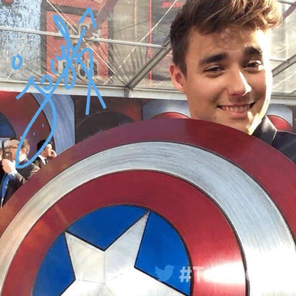 Jorge - Avant-première Captain America