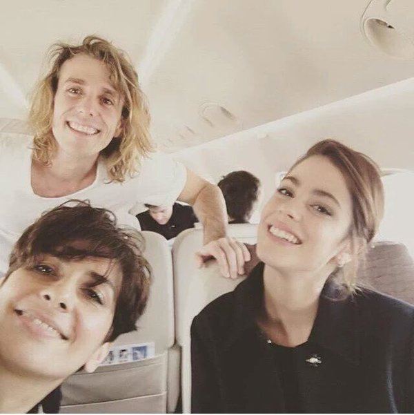 Tini, Jorge, Mechi et l'équipe - Paris