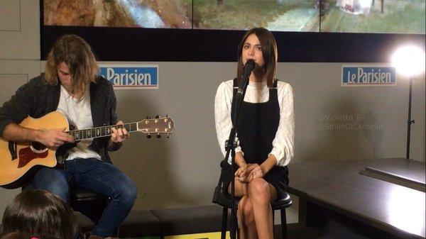 Tini - Concert live pour Le Parisien