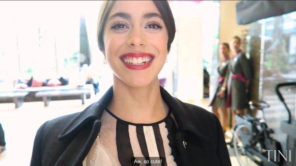 Tini YouTube - Avant première Paris