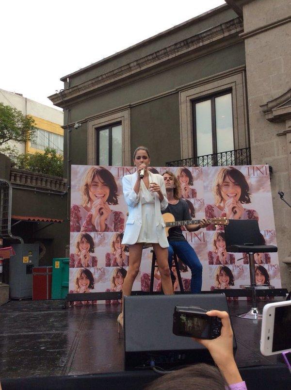 Tini Fan Event, Mexico
