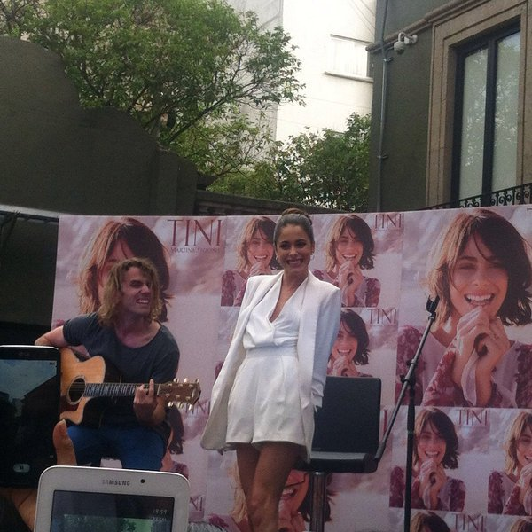 Tini Fan Event, Mexico