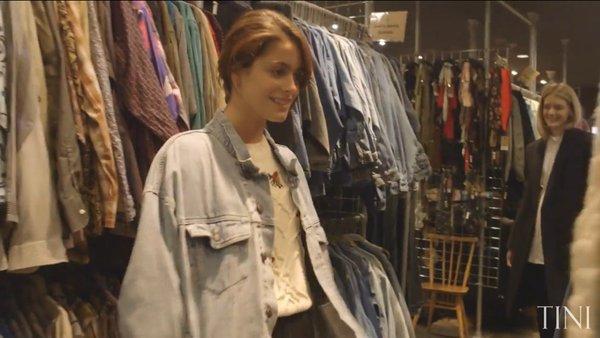 Tini YouTube - Shopping avec Rebecca la styliste