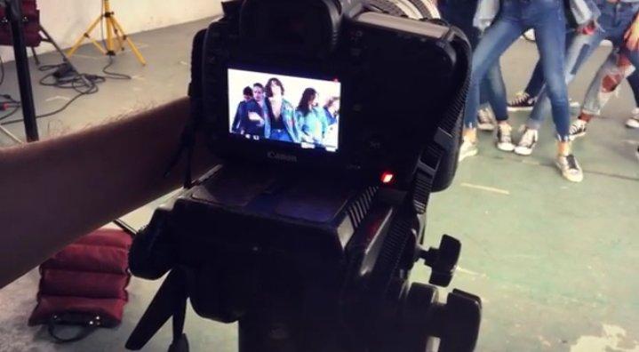 Tini - Nouvelles photos tournage clip Great Escape
