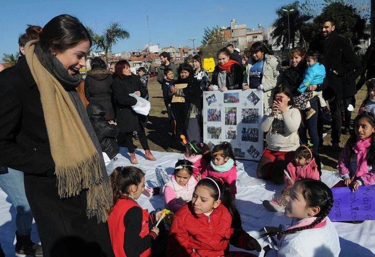 Tini - Visite enfants handicapés, Buenos Aires