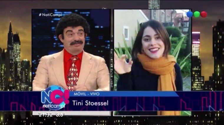 Tini - Buenos Aires - Interview Noti Campi