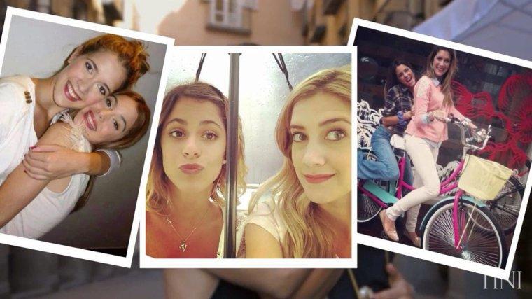 Tini YouTube - Clara et Tini à Madrid