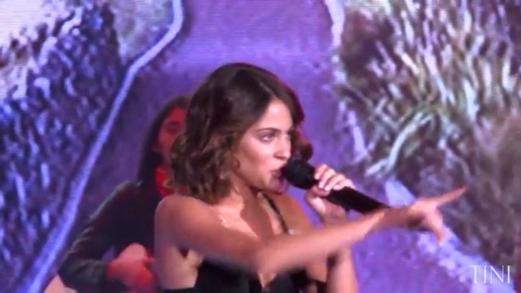 Tini YouTube - Macking Of émission Susana Gimenez