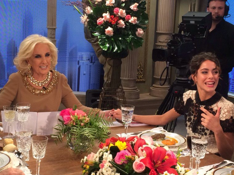 Tini con Mirtha