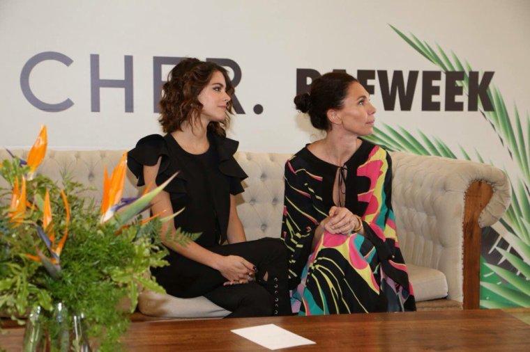 Conférence de presse de la marque CHER
