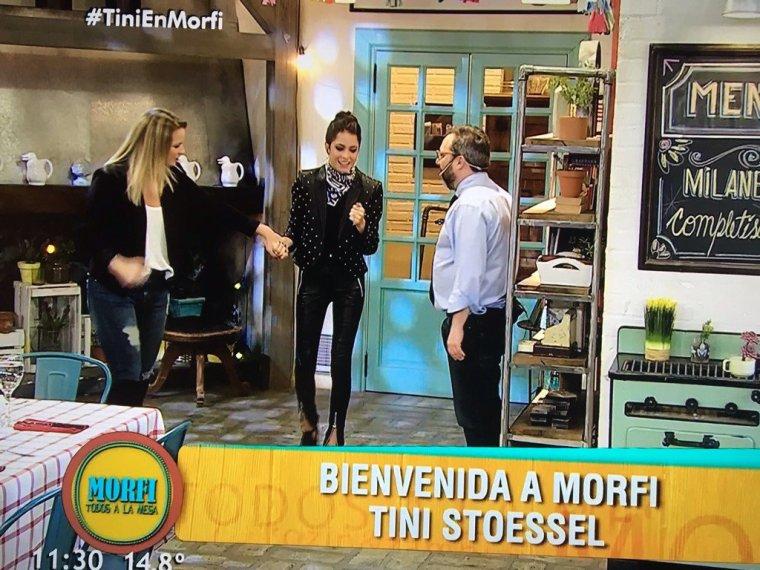 Tini dans l'émission Morfi