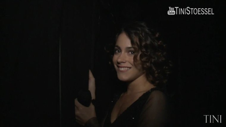 Tini YouTube - Backstage concert Tango Porteno