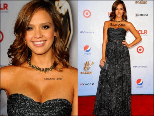 10/09 - Jessica est allée au ALMA awards à Santa Monica .