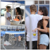 CANDIDS: SELENA SUR LE TOURNAGE DE FEED THE DOG AVEC JUSTIN + MAISON DE SELLY & JUSTIN