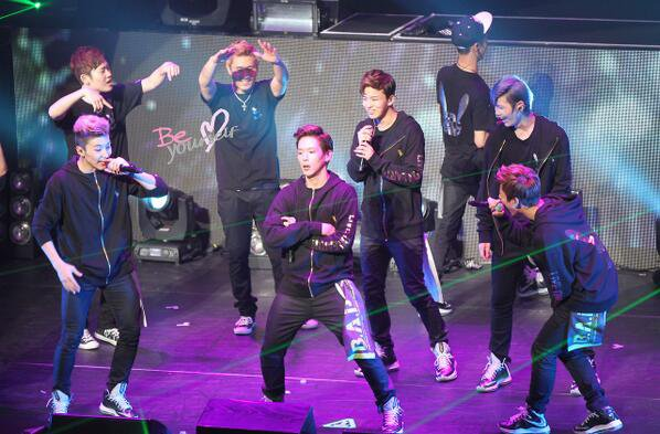 B.A.P @ Live On Earth in Japan
