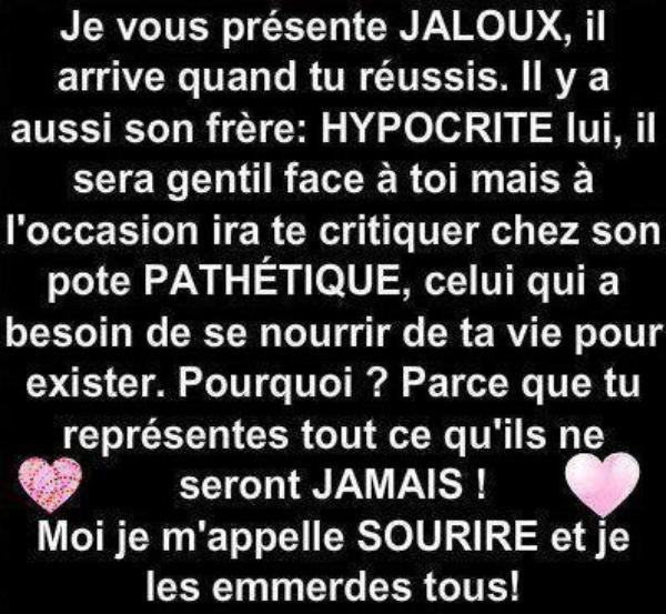 Citation Les Jaloux Vont Maigrir Infos Et Ressources