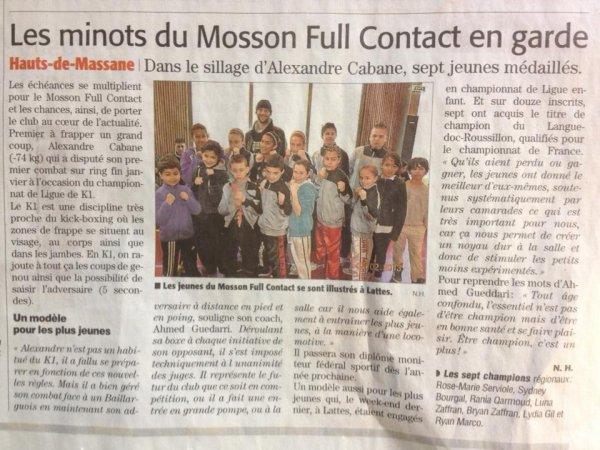 LIGUES LANGUEDOC  ROUSSILLON DE SPORTS DE CONTACT CHAMPIONNAT REGIONAL ENFANT 2012/2013
