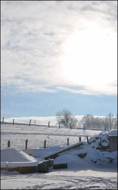 On aime la neige , mais pas sur la route !