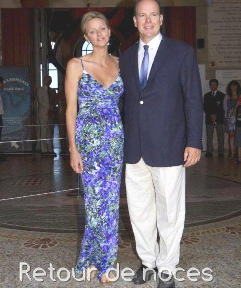 Retour de noces et de passage au musée océanographique de Monaco
