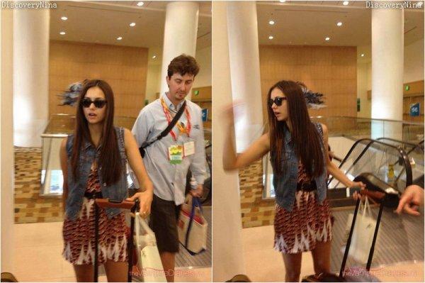 Le 13/07/12  , Nina était présente à une petite soirée organisée par « FX and Maxim »