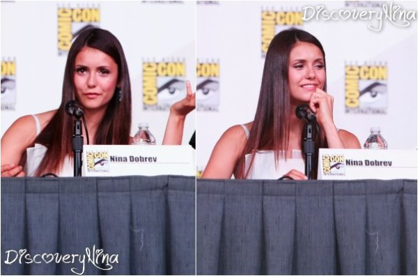 Le 14/07/12 , Nina lors de la Comic-Con International..