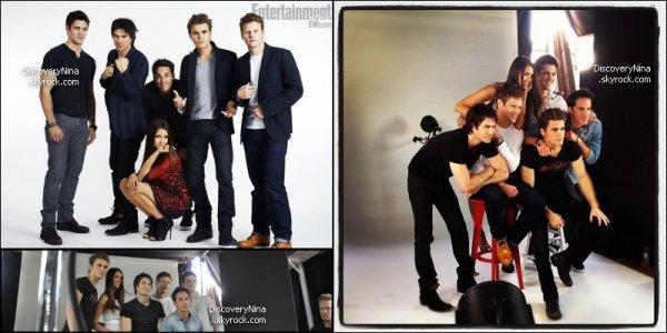 Découvrer le photoshoot du cast par Entertainment Weekly lors du Comic-Con!