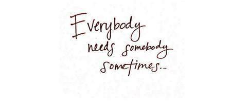 Pour le moment tout le monde croient que je vais bien, sauf moi même.