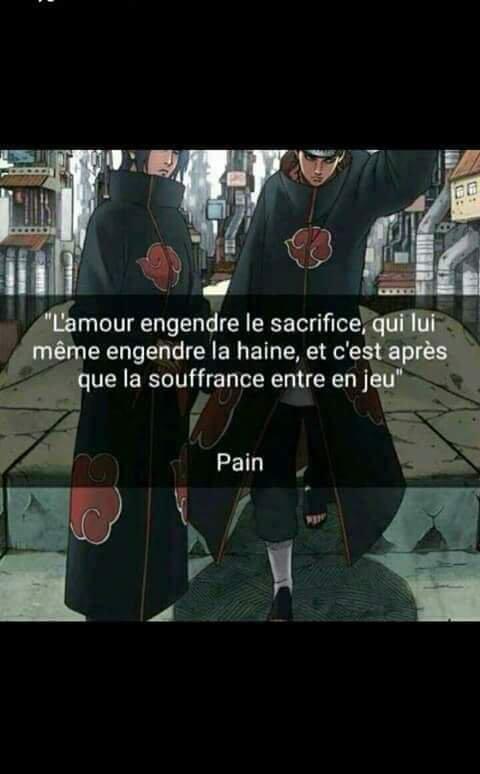 Citation #Naruto #Pain