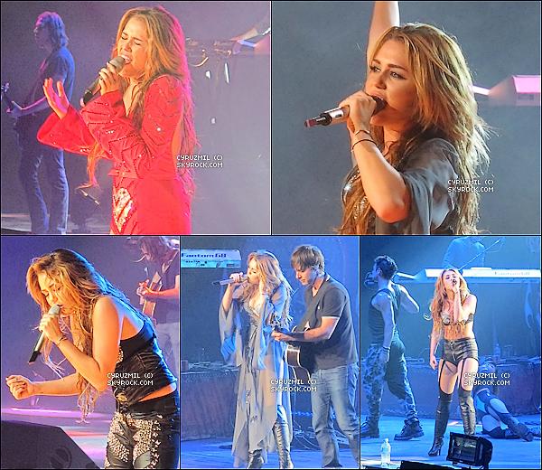 *23/06/11 : Miley enflammait Melbourne avec son Gypsy Heart Tour.  + Un deuxième show du GHT à Melbourne aura lieu aujourd'hui. *