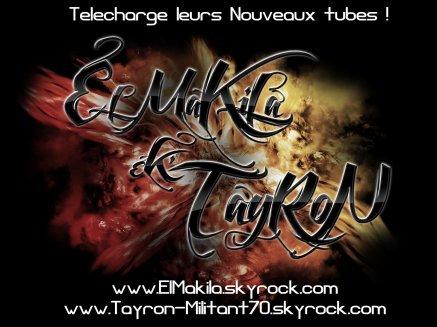 EL MAKILA feat TAYRON!! eske c moin y dekonne?? BlackMan RekOrd'z (2011)