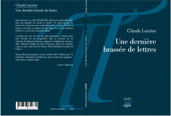 Une dernière brassée de lettres de Claude Luezior