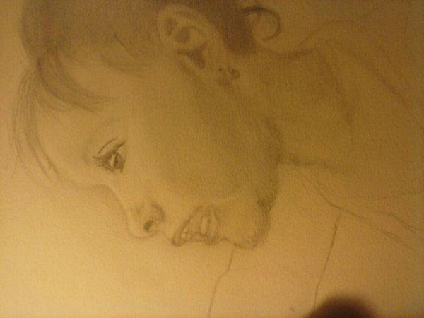 Portrait non fini