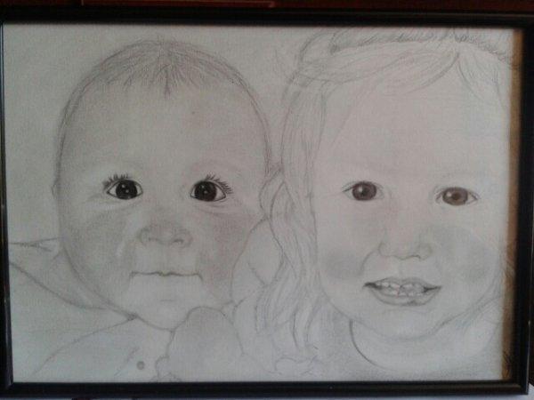commande deux petites filles