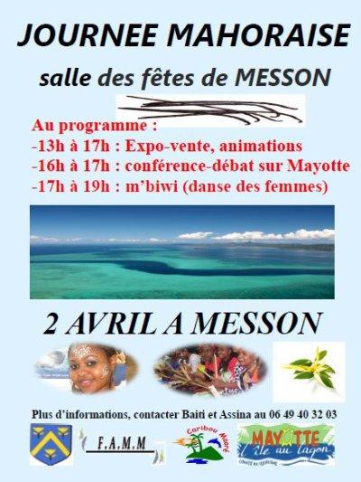 journée du 02 Avril à MESSON à coté de Troyes