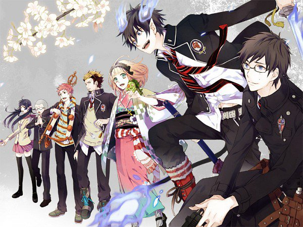 blue exorcist episode 2 vf
