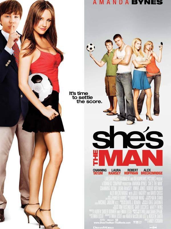 She's man