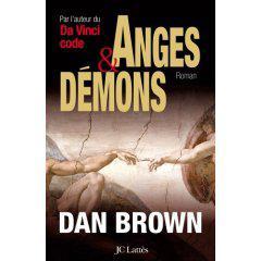 Ange et démons  de Dan Brown