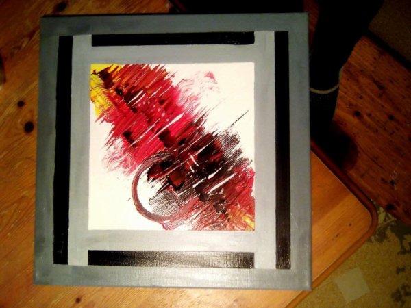 nouvelle série toile Aurore de couleurs