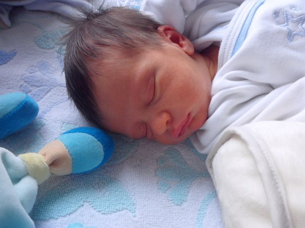 mon bebe qui dort