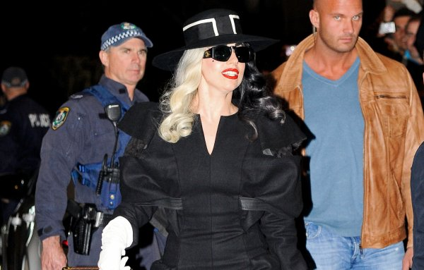 Lady Gaga In Sydney