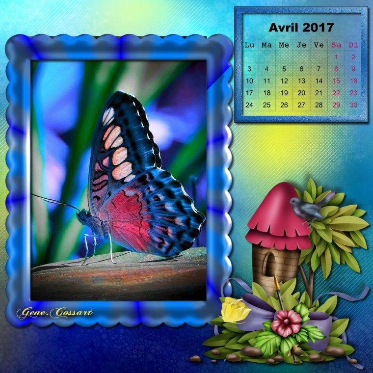 Bonjour ♥ Je vous souhaite à tous un excellent mois d'Avril ♥ Bisous ♥