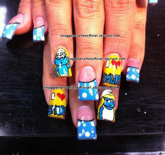 Nails Et Oui On Peut avoir Du Style Jusqu'au Ongles Moi J'adore
