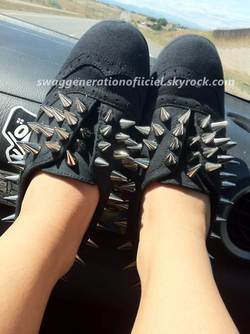 Les  Chaussure Clouteé Vous En Pensez Quoi