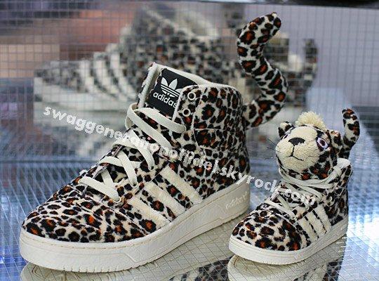 Jeremy scott new  adidas leopard .