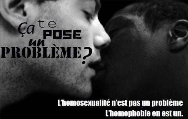 Contre l'homophobie!