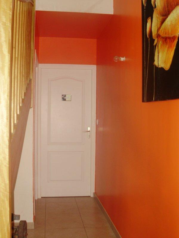 peinture hall d 39 entr e c t salon et d gagement au dessus du hall blog de leclair laclefdeschamps. Black Bedroom Furniture Sets. Home Design Ideas