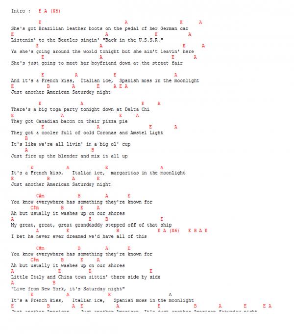 "Brad Paisley - ""American Saturday Night (Album Version)"" [ New Music Vid..."