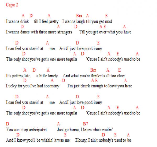 Miranda Lambert - Nobody's Used To Be
